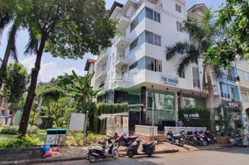 Cho thuê khách sạn cao cấp căn góc công viên Hưng Phước 2, Phú Mỹ Hưng Quận 7, có 18P full nội thất