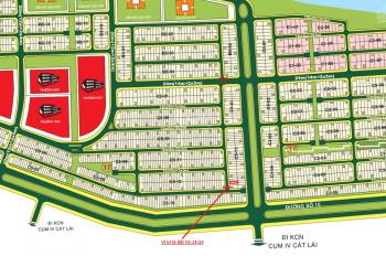 Bán đất Cát Lái khu dân cư Kiến Á gần khu hành chính nền C5 - 13 (100m2) 45 triệu/m2 chính chủ