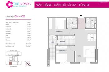 Chính chủ cần bán căn hộ tại chung cư The K Park Văn Phú, Hà Đông
