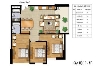 Bán chung cư AZ Lâm Viên, 2 phòng ngủ, 2 vệ sinh, 88m2. Giá 25tr/th, LH: 097217233
