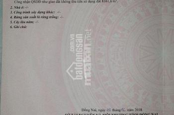 Bán đất Ấp 7, xã Bình Sơn, Long Thành, Đồng Nai, diện tích 8261.6m2, LH: 0908440111 - chú Việt