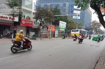 Cho thuê nhà mặt phố Nguyễn Thái Học, diện tích: 100m2 x 3 tầng, mặt tiền: 4m
