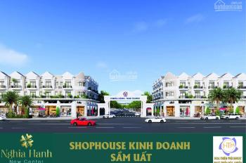 Nhà mặt phố dự án khu đô thị mới Nghĩa Hành New Center