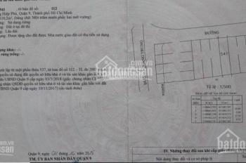 Bán đất đường Quang Trung, P. Hiệp Phú, Q9, giá 8.5 tỷ/110.2m2