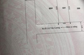 Bán đất cực đẹp 8mx22m hẻm vip 8m, số 1368 Lê Văn Lương, Nhà Bè 8.7 tỷ