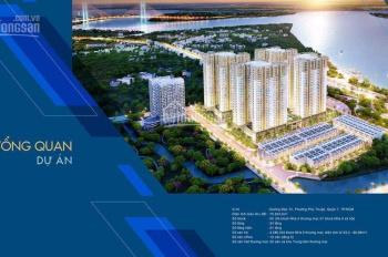 Kẹt tiền cần bán căn 2PN Q7 Sài Gòn Riverside Complex giá: 1.616 tỷ, LH: 0911006396