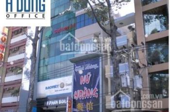 Cho thuê văn phòng đường Trần Hưng Đạo, quận 5, tòa nhà Hà Phan Building, DT 200m2, giá 82tr/tháng