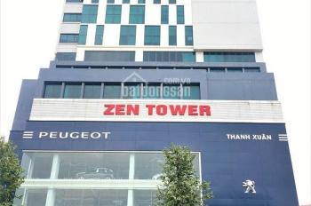 Cho thuê văn phòng tại tòa nhà văn phòng Zen Tower số 12 Khuất Duy Tiến, DT 200m2, LH 0902 255 100