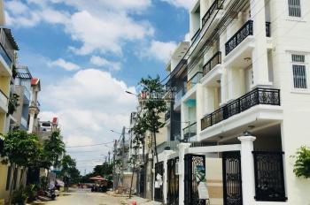 Bán nhà năm trong khu dân cư Hưng Phú, 1 trệt 3 lầu, tại co.op mart Bình Triệu, sổ hồng riêng