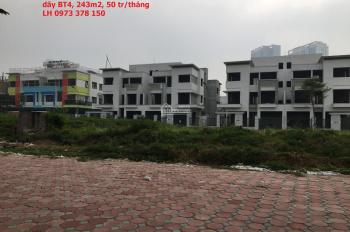 Cho thuê biệt thự Ngoại Giao Đoàn, dãy BT4, đường Nguyễn Văn Huyên. LH 0973.378.150