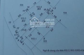 Bán đất Dương Nội (37,2m2*1.2 tỷ) lô đất cực đẹp, ngõ rộng, thoáng, vị trí đẹp. LH 0333762850