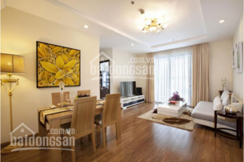 Cho thuê căn hộ 17T 120m2, 3PN có sàn gỗ và điều hòa phù hợp làm VP đại diện 12tr/th, 0915074066