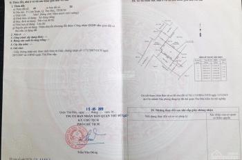 Đất 50m2, SHR, đường ô tô, ngay sân banh Linh Xuân, 2.56 tỷ (TL) bao GPXD, LH 0939 710 447 (Thuỷ)