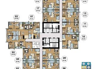 Chính chủ cần bán gấp căn hộ tòa S3 dự án Goldmark City, 136 Hồ Tùng Mậu, 93m2, giá 2,7 tỷ