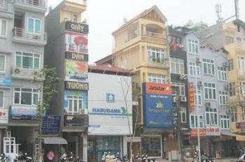 Cho thuê tòa nhà xây mới mặt Phố Vọng, 60m2x7t, thang máy, MT 4.5m, giá 60 tr/th. LH: 0985.765.968