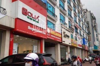 Cho thuê nhà phố Duy Tân, diện tích 90m2, 4,5 tầng, mặt tiền 6m, giá 45tr/th. LH: 0985.765.968