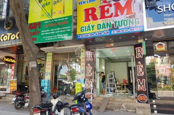 Bán nhanh, rẻ mặt phố Quang Trung chỉ 160tr/1m2, MT 6m, 2 mặt thoáng, mặt phố và mặt sau đường 11m