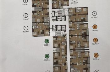 Cần bán căn hộ khu đô thị Mizuki Park, tầng đẹp view nội khu thông thoáng. 72m2, giá 2.360 tỷ