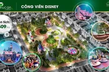 Có căn nhà 2 mặt tiền trước sau, mặt trước 30m, mặt sau view công viên, DT: 5x20, thanh toán 35%