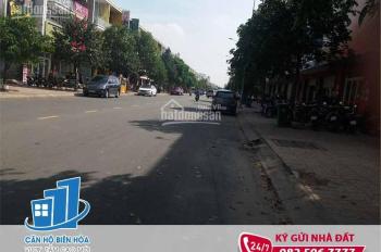 Nhà cho thuê mặt tiền đường lớn khu D2D, P. Thống Nhất, NT37TNH