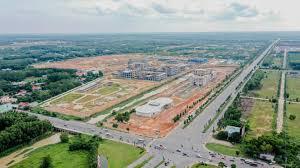 Đất chính chủ, đối diện trường Đại Học Quốc Tế Việt Đức, đường thông KCN