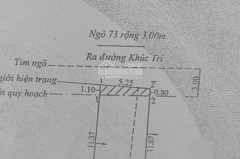 Bán nhà 1,5 tầng Khúc Trì - Kiến An