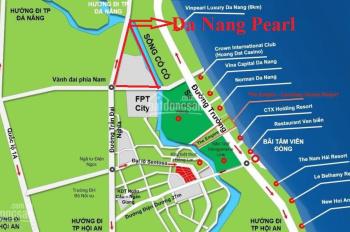 Cần bán lô đất mặt tiền Trần Đại Nghĩa, Quận Ngũ Hành Sơn, Đà Nẵng thuộc khu đô thị Đà Nẵng Pearl