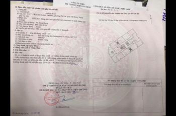 Bán gấp căn hộ tầng 11.07 chung cư CT12 Văn Phú. DT 158m2, giá 1,8 tỷ