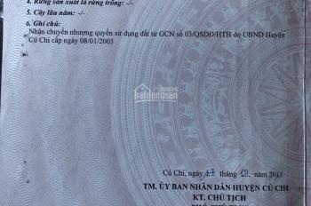 Cần bán gấp thổ cư, SHR, mặt tiền Nguyễn Thị Rành, Phú Mỹ Hưng, Củ Chi