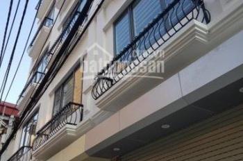 Bán nhà DT 50m2 * 5T xây mới tinh phố Mai Động, Minh Khai, 5 phòng ngủ, hai mặt thoáng, 0973883322