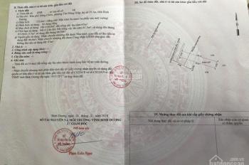 Bán đất mặt tiền kinh doanh đường Mạch Thị Liễu - Dĩ An, BD, DT 133,6m2/giá 1.020 tỷ, 0906630570