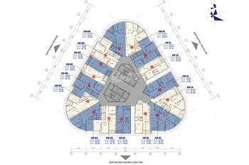 PKD chuyên cho thuê căn hộ chung cư Vinaconex B Golden Heart 1PN, 2PN, 3PN giá 5 - 9tr, 0931296222