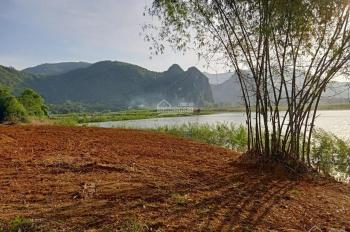 Cần bán lô đất 6000m2 bám mặt hồ rộng đã xây dựng tường bao xung quanh tại Lương Sơn, Hòa Bình