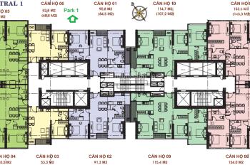 Bán căn hộ 3PN, tòa Central 1 Vinhomes Central Park, full nội thất, giá 8.2 tỷ
