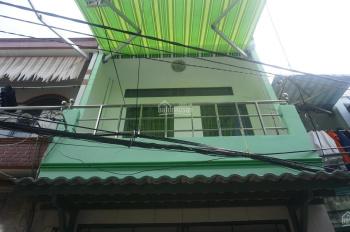 Nhà hẻm 3.5m Bình Tiên, 3x6m, 1 trệt 1 lầu, SHR