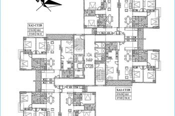 Cần tiền bán CHCC Xuân Phương Quốc Hội, căn B1, tòa CT2B, DT 105m2, 19 tr/m2, 0934568193 (có sổ)