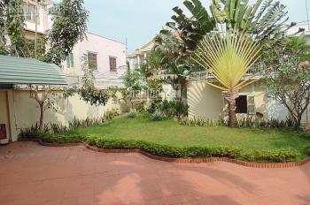 Cho thuê biệt thự mini khu Nguyễn Thái Bình - Hoàng Hoa Thám, 7x22m, trệt 3 lầu, 59 tr/th