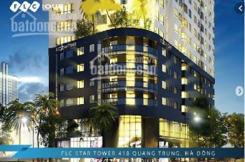 Chính chủ cần bán căn hộ 04 chung cư FLC Star Tower - số 418 Quang Trung, Quận Hà đông