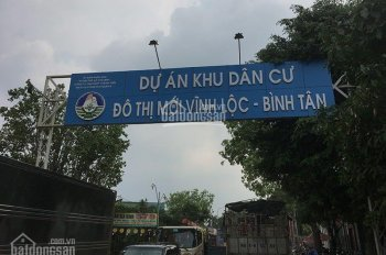 Mở bán Đợt 1 đất nền KDC Vĩnh Lộc, MT Nguyễn Thị Tú, đầu tư lợi nhuận cao, 12 triệu/m2, sổ riêng
