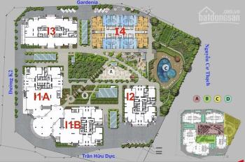 Bán lỗ 200tr, CHCC Iris Garden, 1609 - CT3: 59,5m2 & 1505 - CT4: 102,9m2, giá 27tr/m2, 09O621 7669