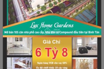 Mở bán KDC mặt tiền An Dương Vương Lux Home Garden nội thất cao cấp - 0969200085