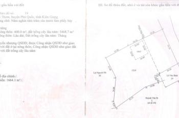 Chuyển nhượng đất ở mặt biển sở hữu lâu dài, chính chủ, Bãi Thơm, Phú Quốc, LH 0933 863 139