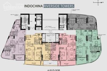 Bán căn hộ cao cấp ven sông Hàn - Quận Hải Châu tòa Indochina