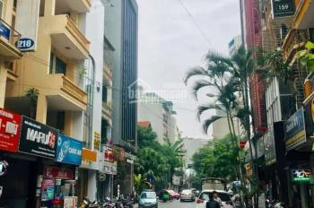 Bán nhà mặt phố Hoàng Ngân, Cầu Giấy, phân lô, vỉa hè rộng, kinh doanh, 46m2 x 5 tầng. Giá 15 tỷ