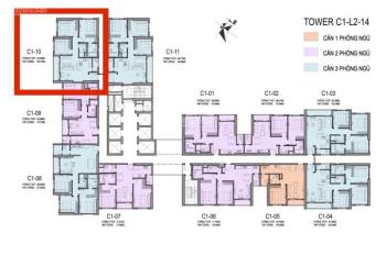 Bán căn hộ 3 phòng ngủ giá 4 tỷ dự án D'capital Trần Duy Hưng. LH 0937643888