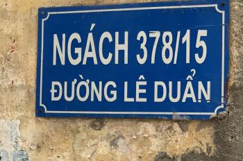 Bán nhà 3 tầng ngõ 378/15 đường Lê Duẩn khu Hồ Ba Mẫu. Mt 10,5m, ngõ vào rộng 1,6m. LH: 0329715143