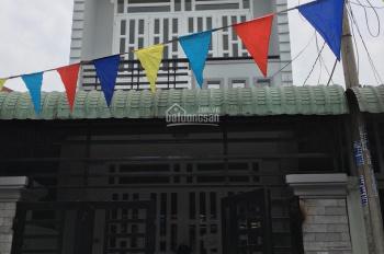 Nhà xinh 1 trệt 1 lầu gần nhà thờ Bùi Môn, Hóc Môn, DT 3.5*17m SHR, giá bán 2.6 tỷ, LH 0917739559