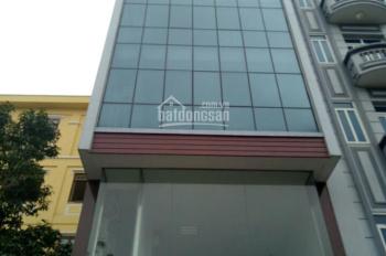 Cho thuê nhà chính chủ 90m2, 7 tầng mặt phố Nguyễn Khang. Giá 110tr/th