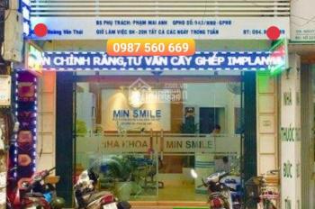 Cho thuê nhà mặt phố Hoàng Văn Thái, DT 50m2, MT 5m, giá chỉ 30tr/tháng, LH 0987 560 669