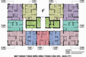 Chị Hà 0987.232.654 bán gấp CC A10 Nam Trung Yên, 60.6m2, căn 15 - 05 CT1, giá 28tr/m2